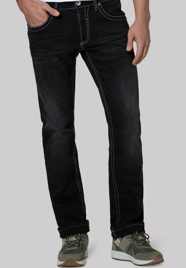 Straight leg jeans - anthra used