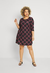 CAPSULE by Simply Be - SLEEVE SWING DRESS - Day dress - pink - 1