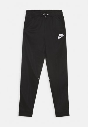 TAPERED PANT - Trainingsbroek - black/whte