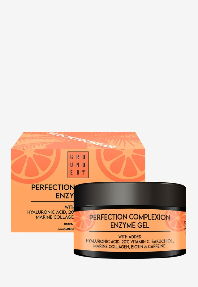 VITAMIN C FACE GEL MASK - ANTI AGEING - Anti-Aging - orange