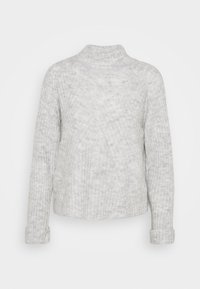 VMCARINA10 HIGHNECK - Jumper - light grey melange