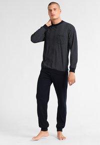 Schiesser - LANG SET - Pyjama set - dunkelblau - 1