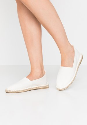 2 PACK  - Espadrilles - black/white