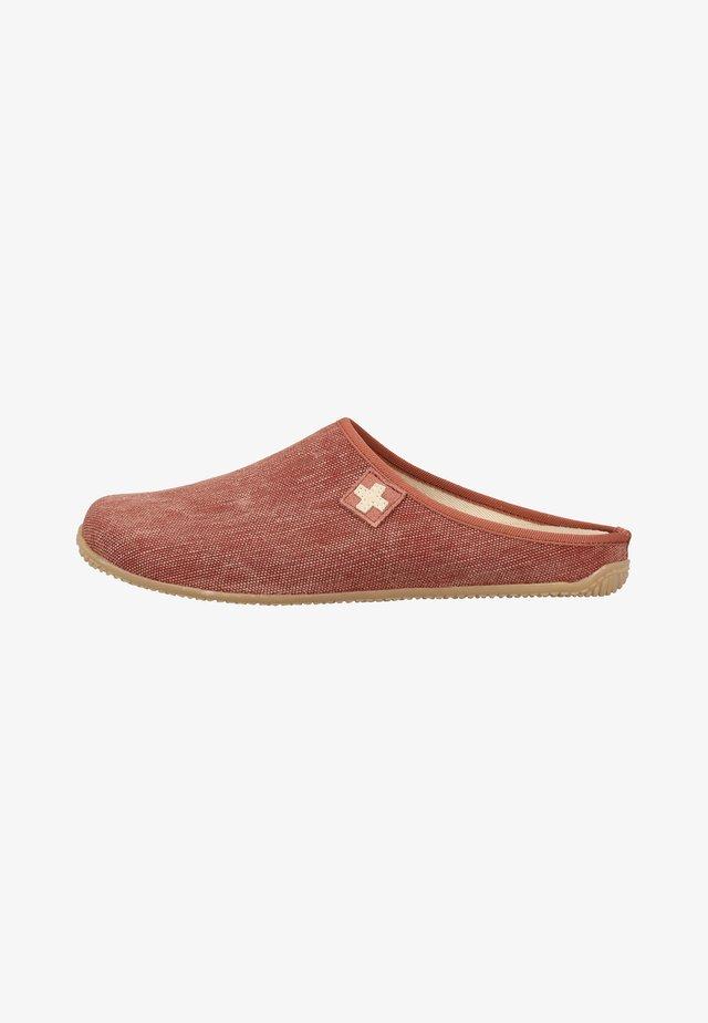 Pantoffels - red
