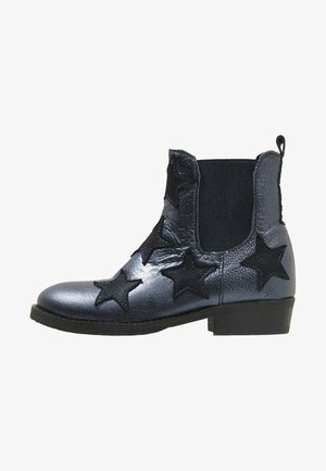 WESTERN - Classic ankle boots - marine