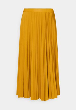 PLISSEE SKIRT - A-line skirt - sunflower