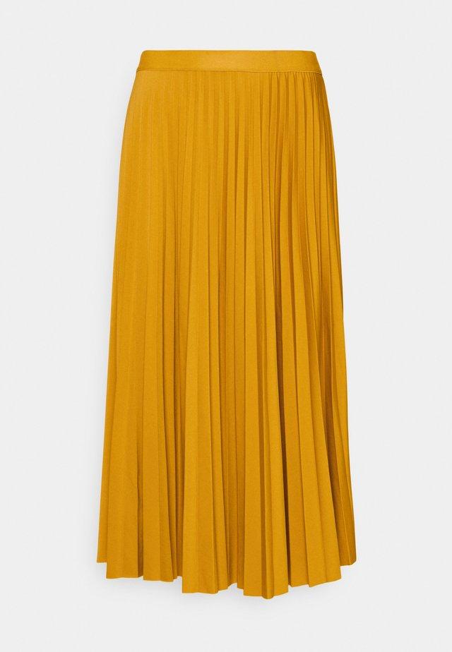 PLISSEE SKIRT - A-snit nederdel/ A-formede nederdele - sunflower