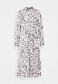 Banana Republic - FRONT MIDI SHIRTDRESS PRINT - Shirt dress - offwhite - 3
