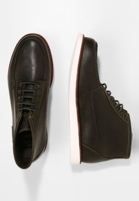 Timberland - NEWMARKET  - Lace-up ankle boots - dk green full grain - 3