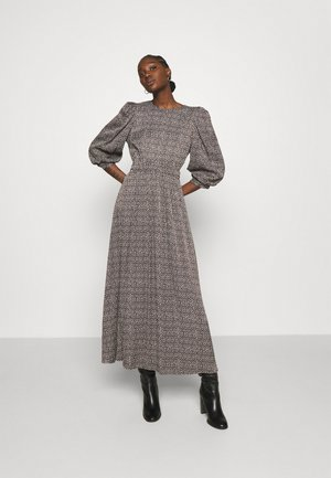 ILA MIDI DRESS - Day dress - brown