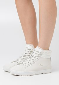 Lacoste - STRAIGHTSET - Baskets montantes - offwhite - 0
