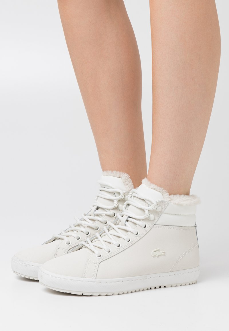 Lacoste - STRAIGHTSET - Baskets montantes - offwhite