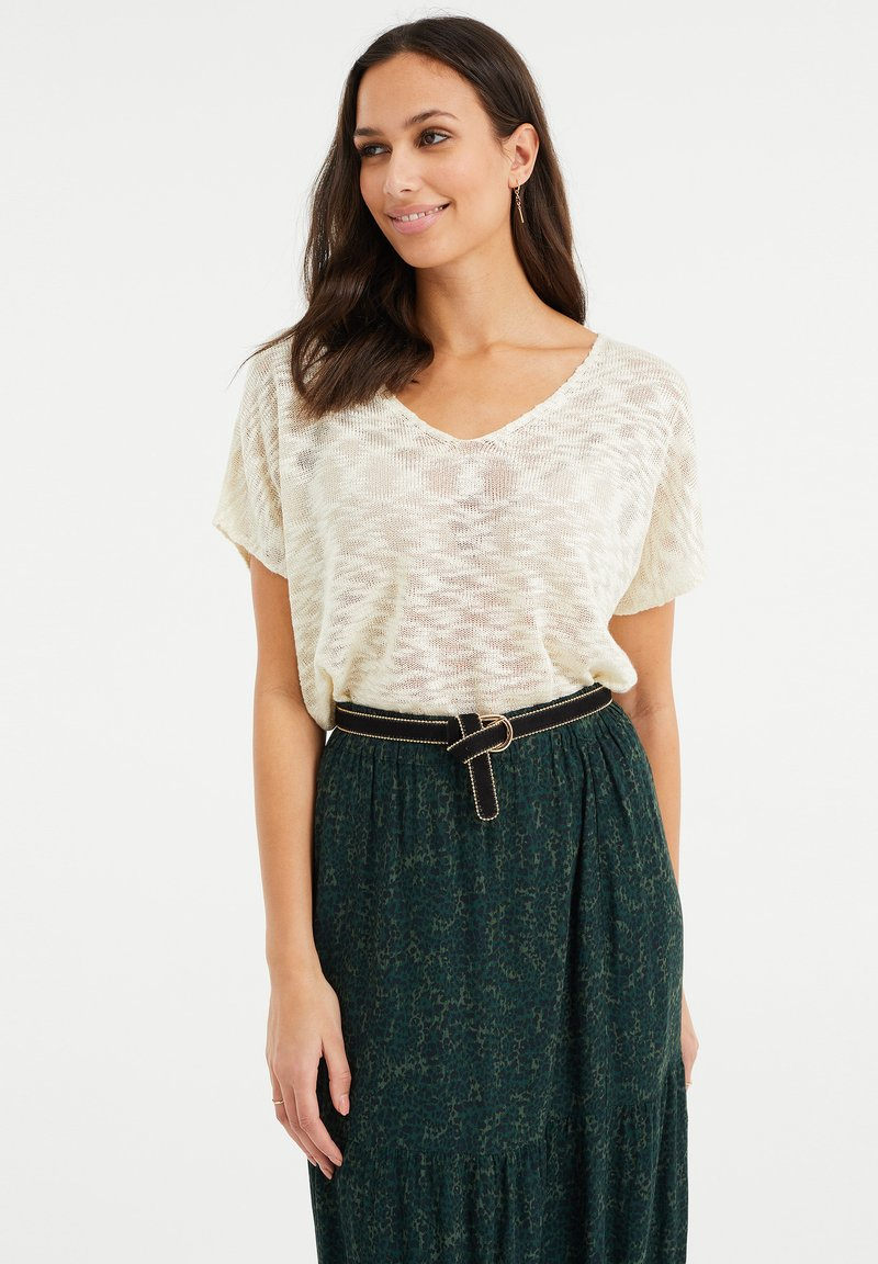 WE Fashion - Jumper - off-white