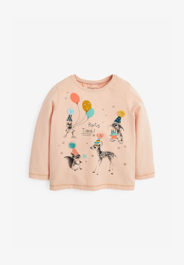 PARTY TIME - Long sleeved top - pink