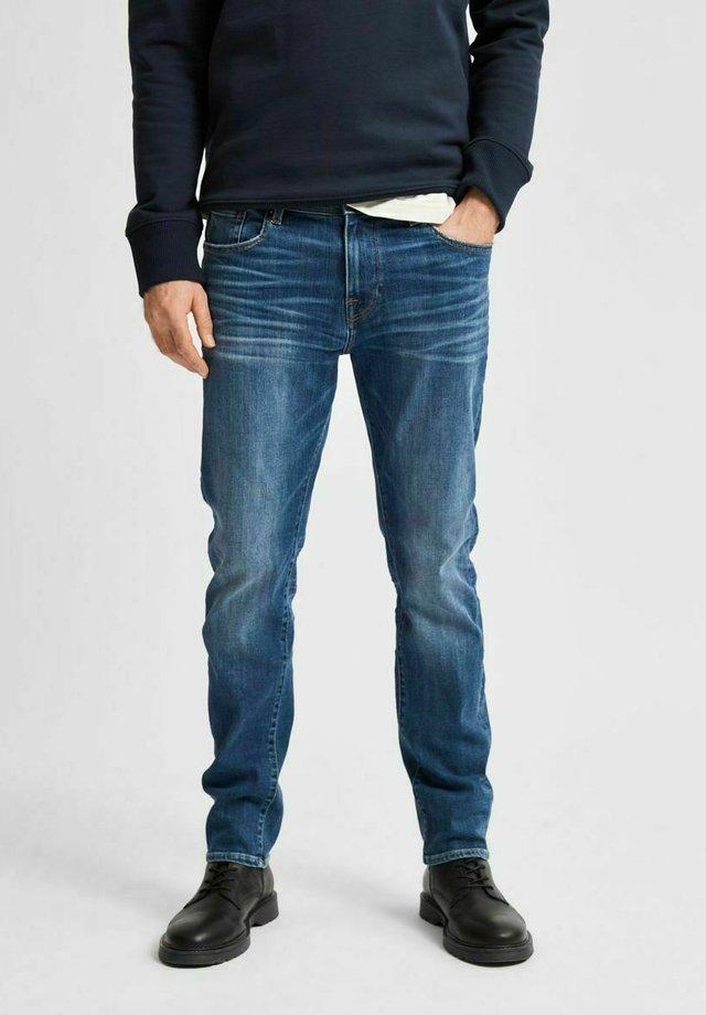 COOLMAX - Jeans slim fit - dark blue denim