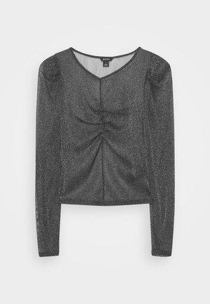 SILJA - Camiseta de manga larga - black