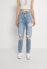 American Eagle - CURVY MOM JEANS - Jeans relaxed fit - blue breeze - 0