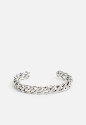 WRAPPED BANGLE - Bracelet - silver-coloured