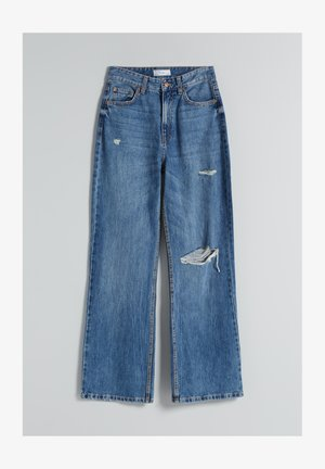 90s WIDE LEG - Jean flare - dark blue