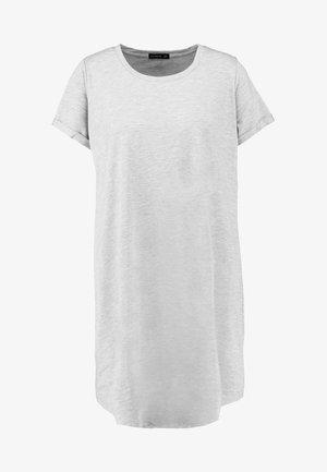 TINA DRESS - Vestito di maglina - grey marle