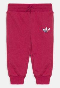 adidas Originals - HOODIE SET UNISEX - Survêtement - pink - 2