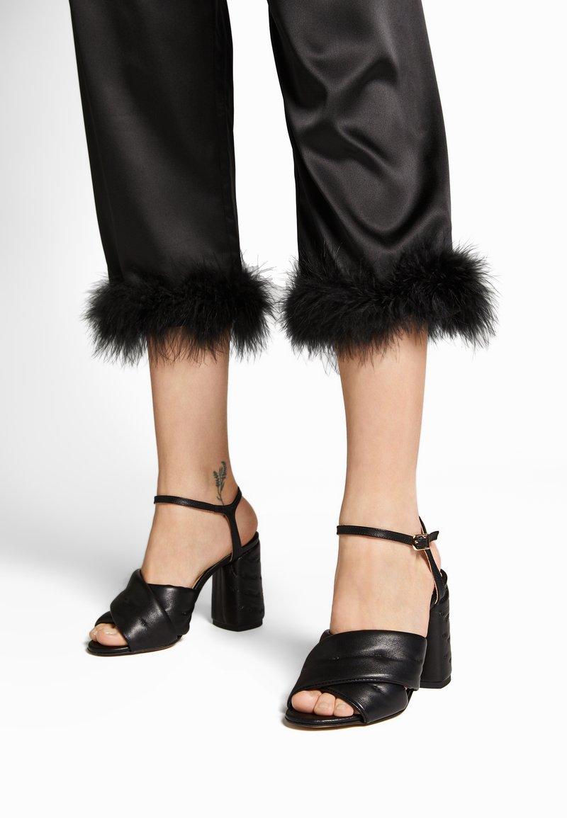 L37 - PARTY UP THE STREET - Sandaler med høye hæler - black