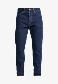 ED-45 LOOSE TAPERED - Relaxed fit jeans - dark blue denim