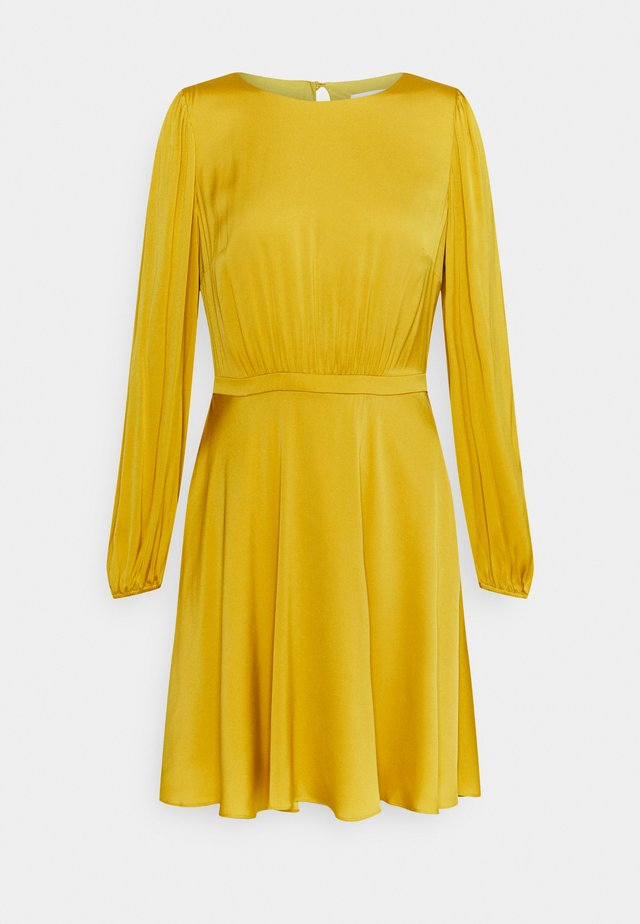 ELMA STRETCH DRESS - Robe de soirée - marigold