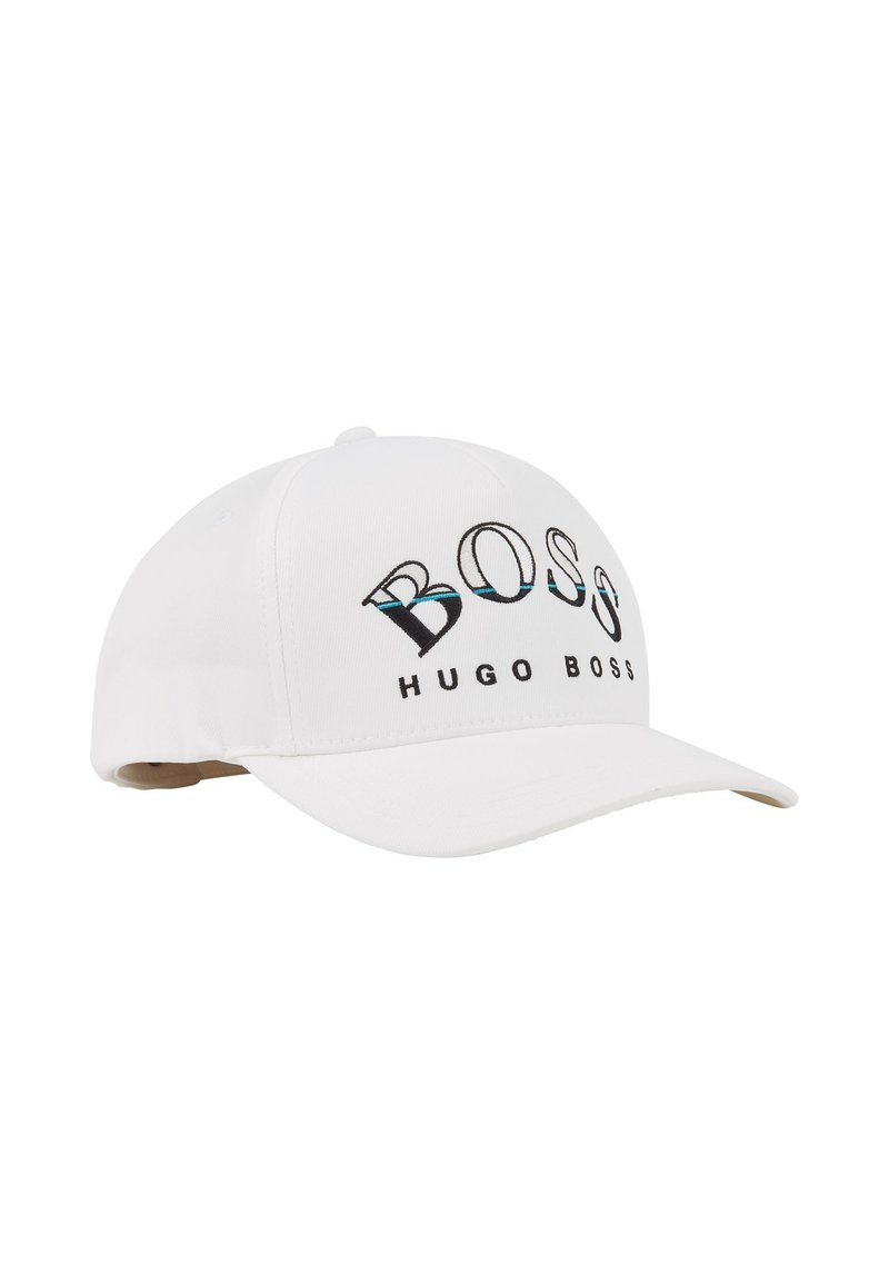 BOSS - CURVED - Cap - white