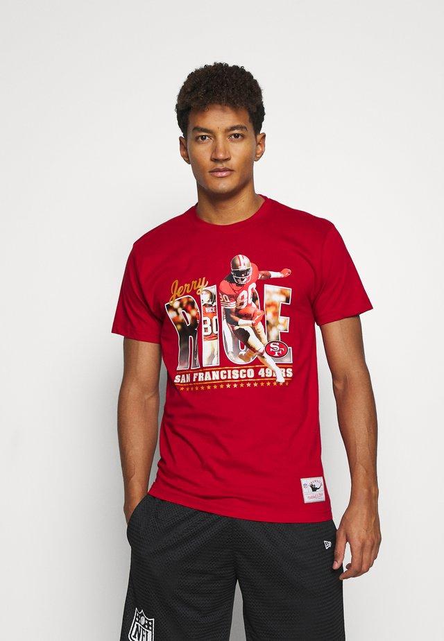 NFL SAN FRANSISCO 49ERS   - Klubtrøjer - red