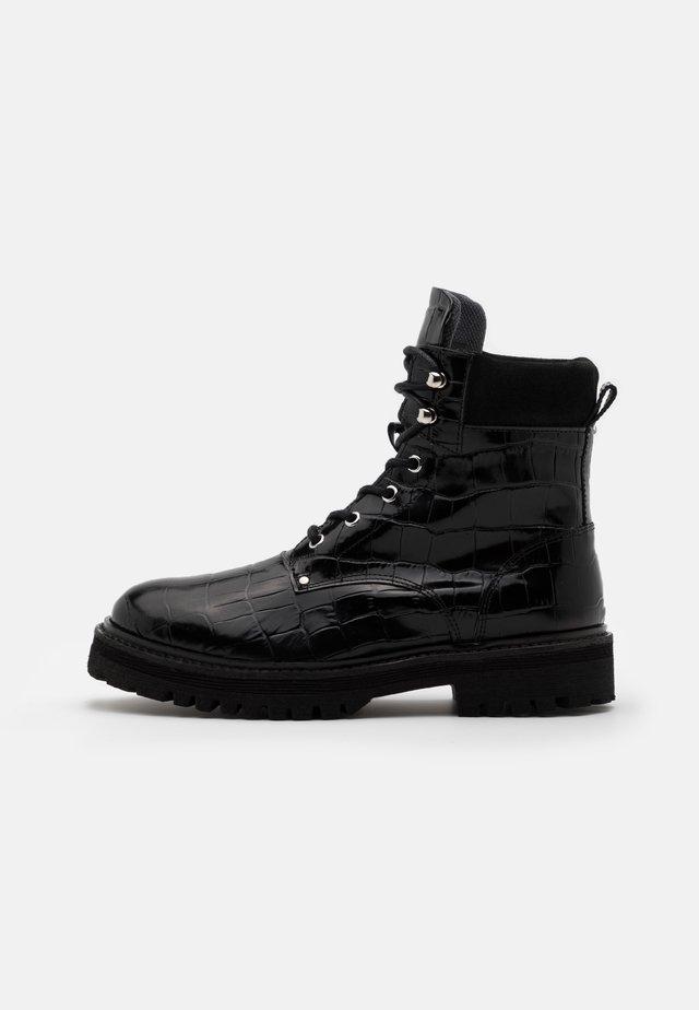 YASALMIRA BOOTS - Schnürstiefelette - black