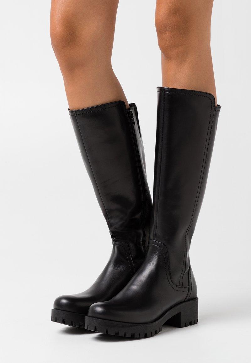 Tamaris - Platform boots - black