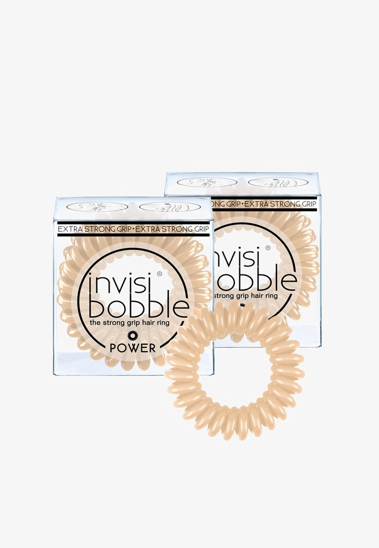 Invisibobble - POWER HAARGUMMI 2 PACK - Hair styling accessory - to be or nude to be