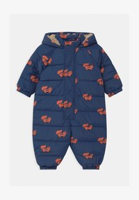 TINYCOTTONS - FOXES PADDED ONE-PIECE - Combinaison de ski - light navy/sienna - 0