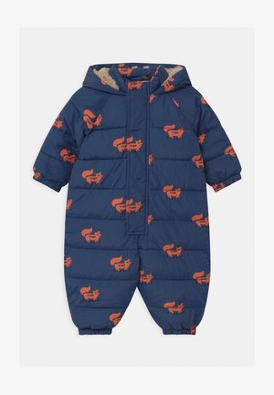 FOXES PADDED ONE-PIECE - Snowsuit - light navy/sienna