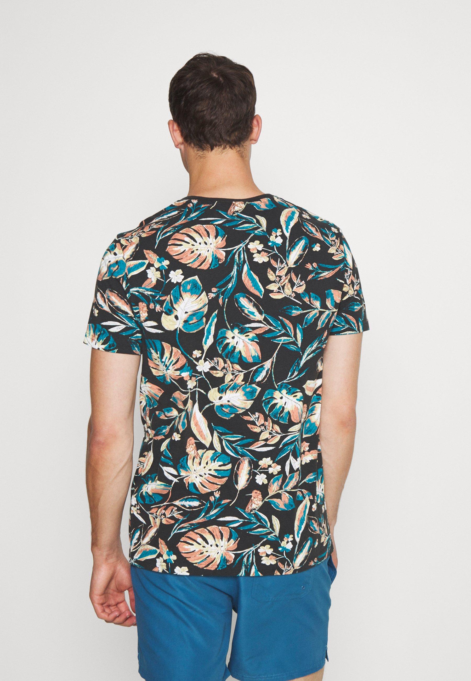 Superdry SUPPLY - Print T-shirt - black jZgI4