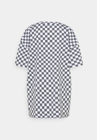 NEW girl ORDER - WHITE CHECKERBOARD TEE - Print T-shirt - black/white - 1