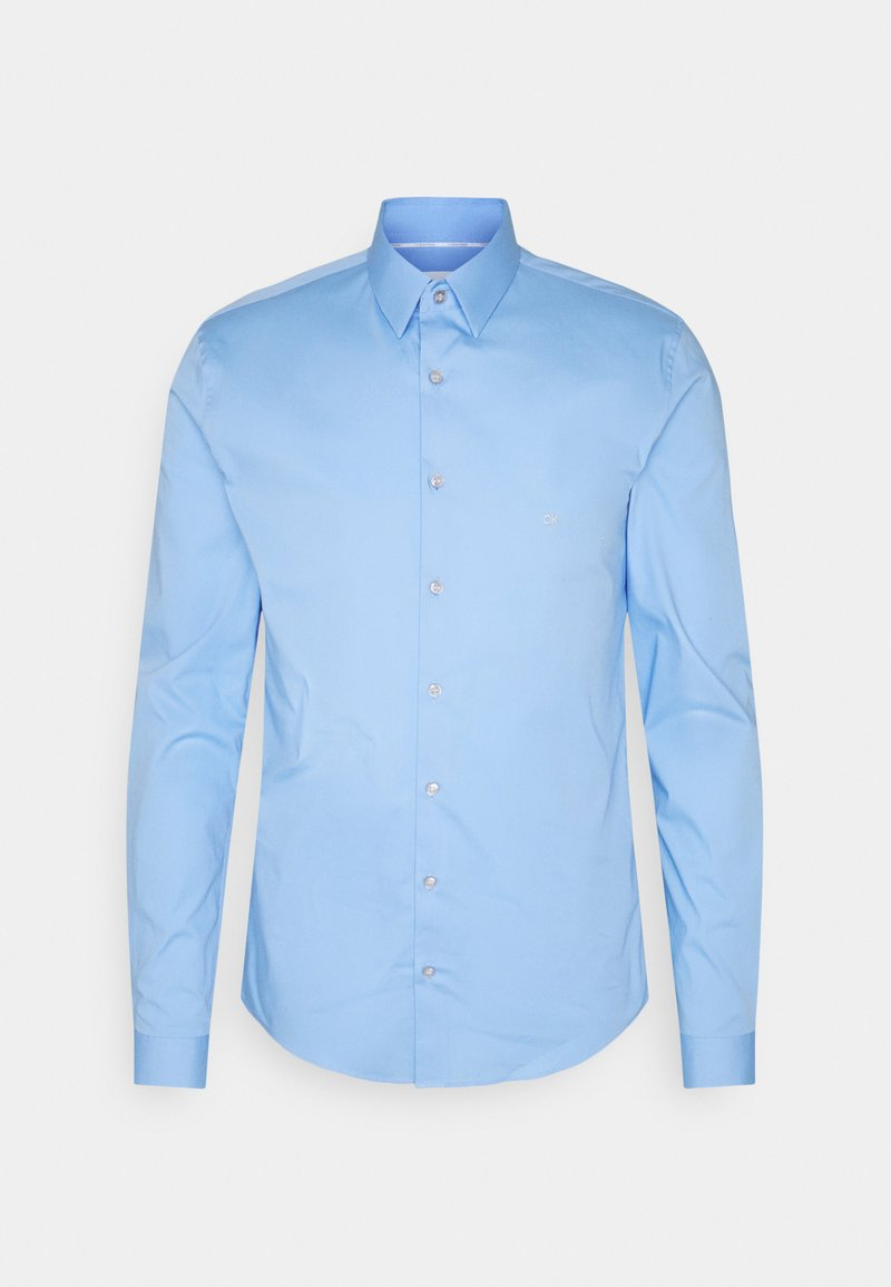 Calvin Klein Tailored - LOGO STRETCH EXTRA SLIM - Formal shirt - navy