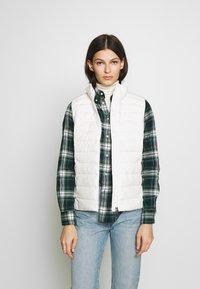 Polo Ralph Lauren - MATTE FINE  - Waistcoat - white - 0
