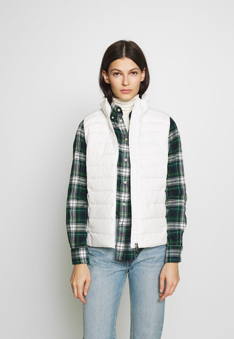 Polo Ralph Lauren - MATTE FINE  - Waistcoat - white