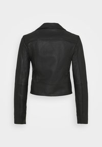 Pinko - SENSIBILE CHIODO - Leather jacket - black - 9