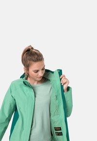 Jack Wolfskin - SAVOIA PEAK - Hardshell jacket - pacific green - 2