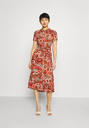ROSIE DRESS MIDI - Košilové šaty - coconut brown
