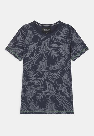 JUNEAU - Camiseta estampada - navy