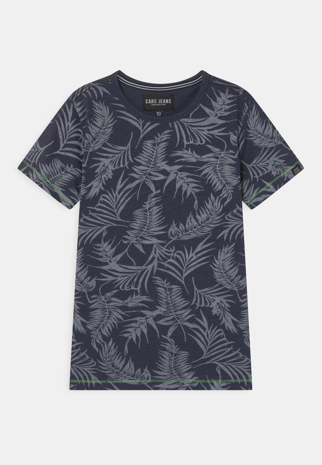 JUNEAU - T-shirt imprimé - navy
