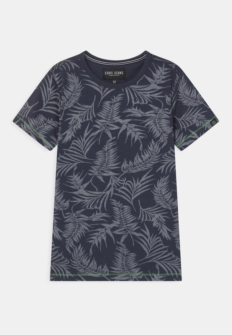 Cars Jeans - JUNEAU - Print T-shirt - navy