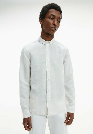 SLIM FIT SHIRT - Camicia - bleached stone