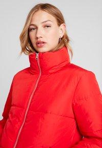 JDY - Winter jacket - goji berry - 3