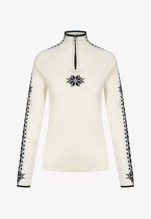 Geilo  - Sweatshirt - offwhite/black