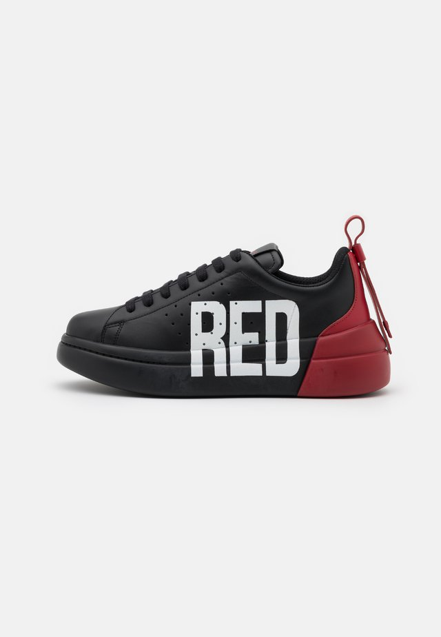 Sneakers laag - nero/rosso/bianco
